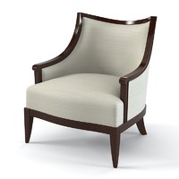 Nora Lounge Chair Barbara Barry for Henredon